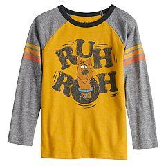 Boys 4-12 Jumping Beans® Retro Scooby-Doo 'Ruh Ruh' Raglan Tee