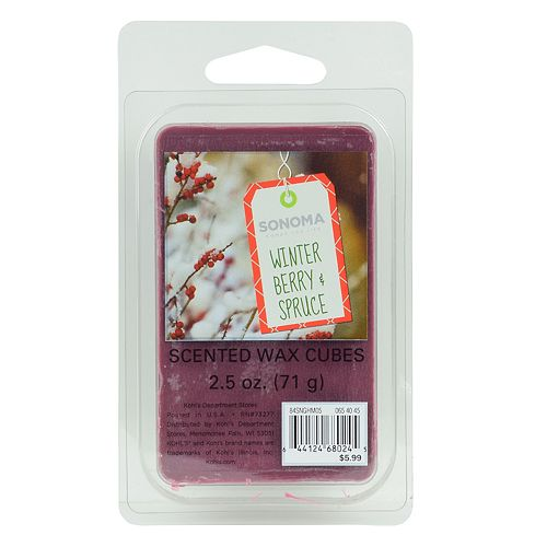SONOMA Goods for Life™ Winter Berry & Spruce Wax Melt 6-piece Set