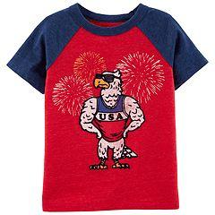 Baby Boy OshKosh B'gosh® USA Eagle Raglan Tee