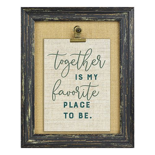 "Belle Maison Distressed Clip 5"" x 7"" Frame"