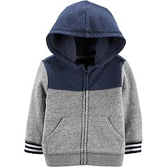 Baby Boy OshKosh B'gosh® Colorblock Zip Hoodie