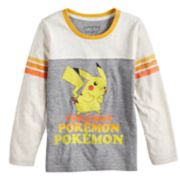 Boys 4-12 Jumping Beans® Retro Pokemon Pikachu Repeat Graphic Tee