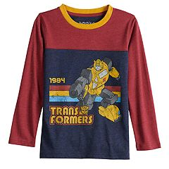 Boys 4-12 Jumping Beans® Retro Transformers Bumblebee '1984' Colorblock Tee