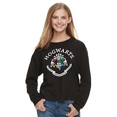 Juniors' Harry Potter Hogwarts Crest Top
