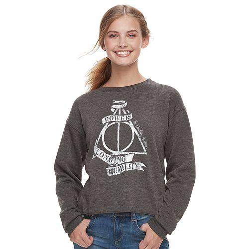 Juniors' Harry Potter Deathly Hallows Top