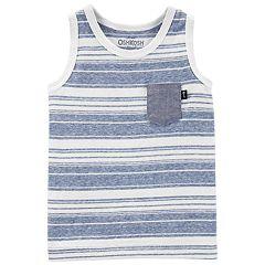 Baby Boy OshKosh B'gosh® Striped Pocket Tank Top