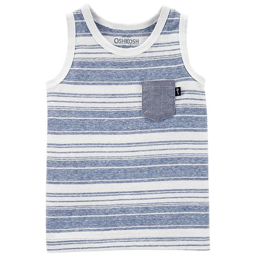 Baby Boy OshKosh B'gosh® Striped Pocket Tank Top