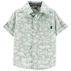 Baby Boy OshKosh B'gosh® Safari Tropical Shirt