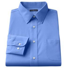 Big & Tall Croft & Barrow® Easy Care Point-Collar Dress Shirt