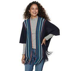 Women's Mudd® Striped Ruana
