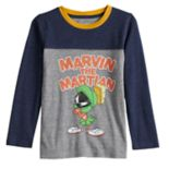 "Boys 4-12 Jumping Beans® Retro ""Marvin The Martian"" Colorblock Tee"