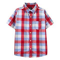 Boys 4-12 OshKosh B'gosh® Plaid Shirt