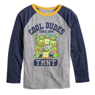 "Boys 4-12 Jumping Beans® Retro TMNT ""Cool Dudes"" Raglan Graphic Tee"