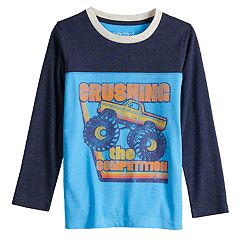 Boys 4-12 Jumping Beans® Retro Monster Truck Colorblock Tee