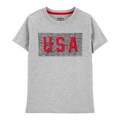 Boys 4-12 OshKosh B'gosh® 'USA' Flip-Sequin Graphic Tee