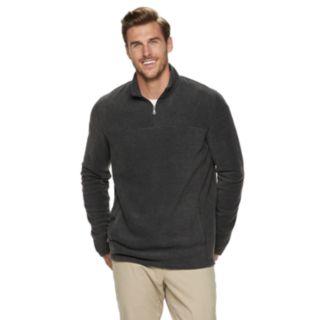 Big & Tall Croft & Barrow® Classic-Fit Extra-Soft Arctic Fleece Quarter-Zip Pullover