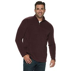 Big & Tall Croft & Barrow® Classic-Fit Extra-Soft Arctic Fleece Quarter-Zip Pullover