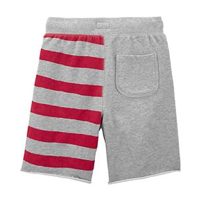 Boys 4-14 OshKosh B'gosh® USA Flag French Terry Shorts