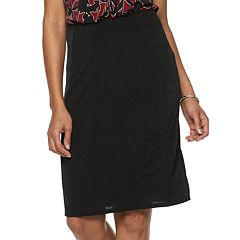Women's Dana Buchman Pull-On Straight Skirt