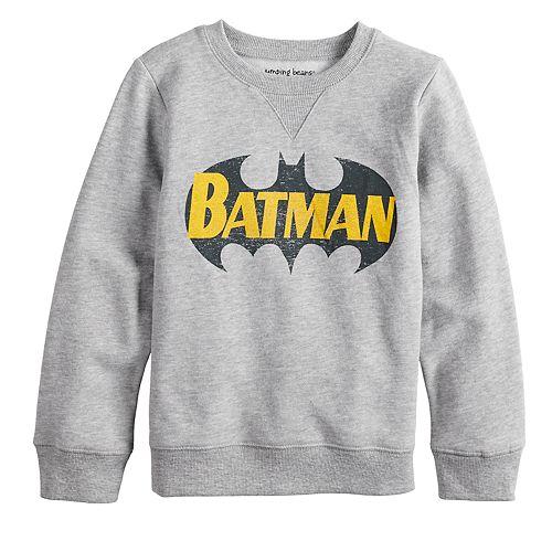 Boys 4-12 Jumping Beans® Retro DC Comics Batman Softest Fleece Sweatshirt