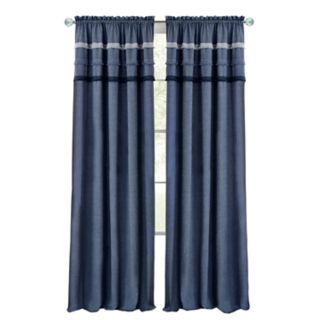 Achim Blue Jean Rod Pocket Window Curtain