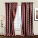 Achim Prelude Reversible Blackout Rod Pocket Window Curtain