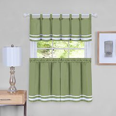 Achim Dakota Tier Pair & Valance Set