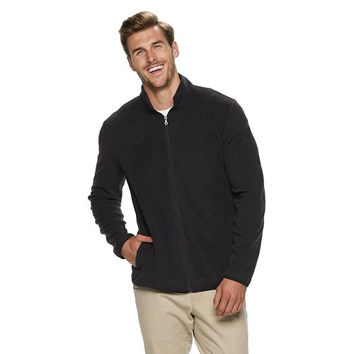 Big & Tall Croft & Barrow® Classic-Fit Extra-Soft Arctic Fleece Full-Zip Pullover