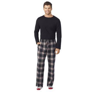 Men's Cuddl Duds Top, Sleep Pants & Socks Set