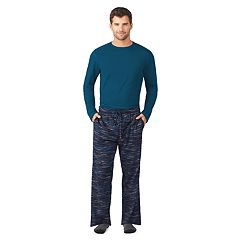 Men's Cuddl Duds Top, Sleep Pants & Socks Set