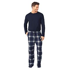Men's Cuddl Duds Sleep Sleep Top, Sleep Pants & Socks Set