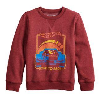 "Boys 4-12 Jumping Beans® Retro Hot Wheels ""Born To Race"" Softest Fleece Sweatshirt"