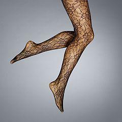 Women's Simply Vera Vera Wang Floral Net Tights