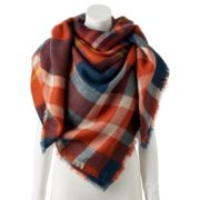 Women's Apt. 9® Plaid Square Scarf