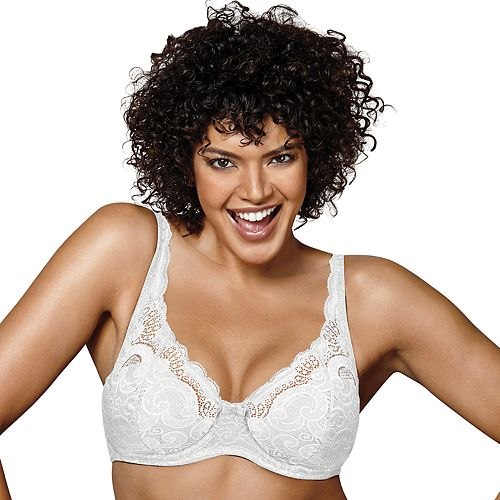 1cf7041a291ae Playtex Bras  Love My Curves Beautiful Lift Lightly Lined Full-Figure  Underwire Bra US4514