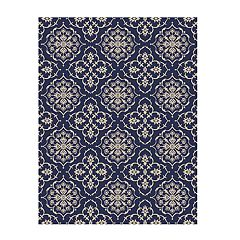 Studio by Brown Jordan Amadora Indoor Outdoor Medallion Rug
