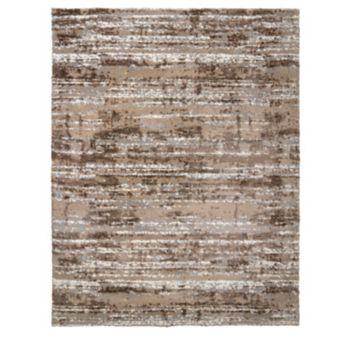 Gertmenian Avenue 33 Thera Micro Shaggy Michaela Abstract Striped Shag Rug