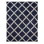 Gertmenian Avenue 33 Thera Micro Shaggy Thatcher Trellis Shag Rug