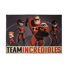 Disney's ''Team Incredibles'' Rug - 4'6'' x 6'6''