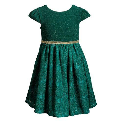 d06c8471732e Girls 7-16   Plus Size Emily West Lurex Lace Skirt Dress