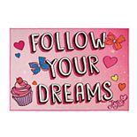 Nickelodeon JoJo Siwa ''Follow Your Dreams'' Rug - 4'6'' x 6'6''