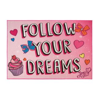 Nickelodeon JoJo Siwa ''Follow Your Dreams'' Rug - 4'6'' x 6'6''