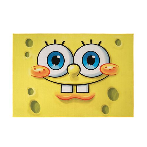Nickelodeon SpongeBob Rug - 4'6'' x 6'6''
