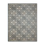 Gertmenian Avenue 33 Veranda Castille Indoor Outdoor Ornate Lattice Rug