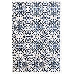 Gertmenian Avenue 33 Veranda Marengo Indoor Outdoor Medallion Rug