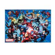 Marvel Avengers Rug - 4'6'' x 6'6''