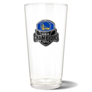 Golden State Warriors 2018 NBA Finals Champions Shaker Glass
