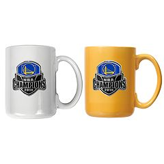 Golden State Warriors 2018 NBA Finals Champions Mug Set