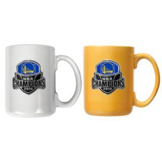 Golden State Warriors 2018 NBA Finals Champions Mug Set