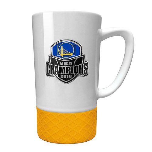 Golden State Warriors 2018 NBA Finals Champions White Ceramic Mug